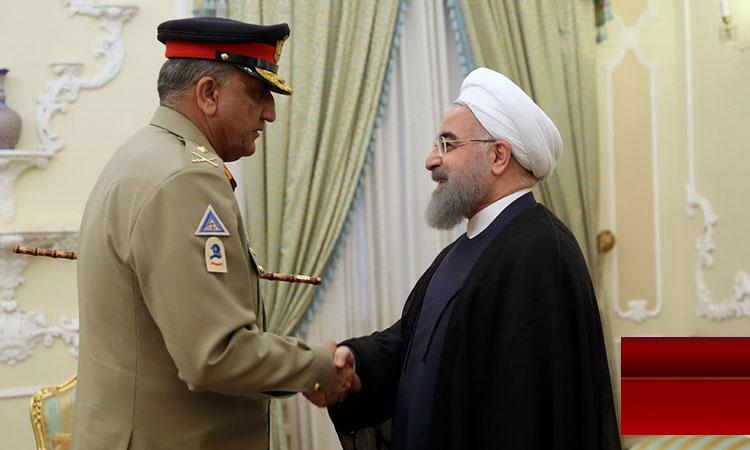 آرمی چیف کی ایرانی سیاسی و عسکری قیادت سے ملاقاتیں، خطے کی سیکیورٹی پر بات چیت