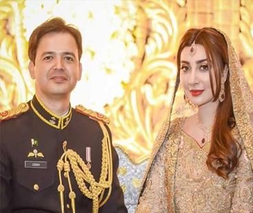 میرے گھر آئی ننھی پری :عائشہ خان اورمیجرعقبہ کے گھر ننھی پری آگئی