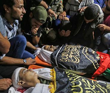 غزہ میں اسرائیلی جارحیت؛34 افراد کی شہادت