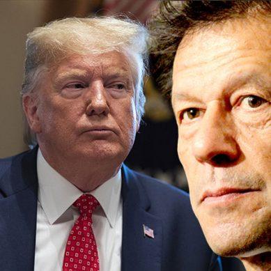 وزیراعظم عمران خان اور امریکی صدر ڈونلڈ ٹرمپ کے درمیان ٹیلیفونک رابطہ
