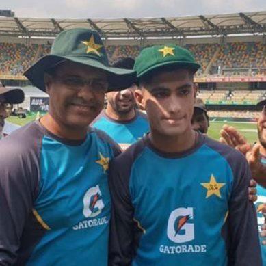 دنیا کے نویں کم عمر ترین کرکٹر: ٹیسٹ کیپ وصول کرتے ہوئے نسیم شاہ کے آنسو نکل پڑے