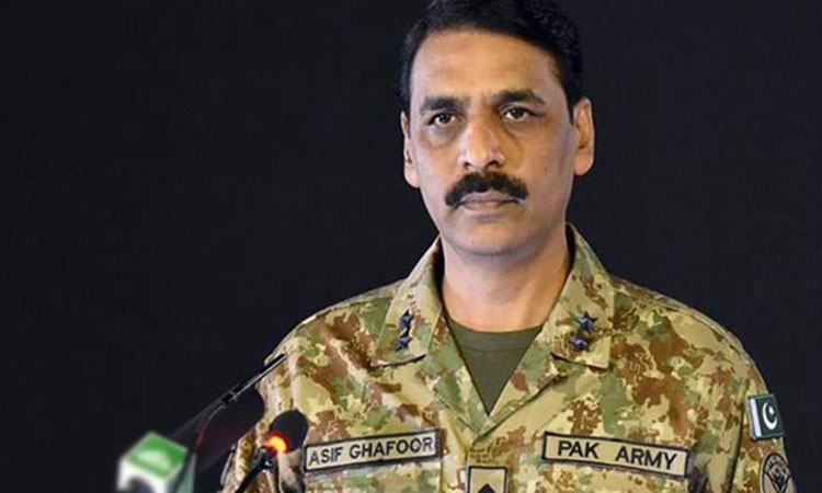 پاک فوج کے ترجمان میجر جنرل آصف غفور کو تبدیل کر دیا گیا