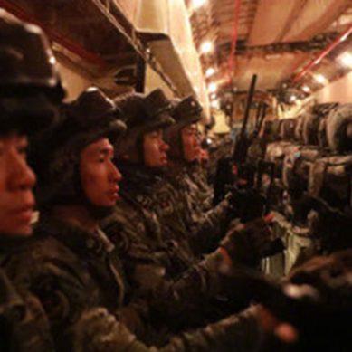 واریئر سیون مشترکہ فوجی مشقیں چین اسپیشل فورسز کا دستہ پاکستان آئیگا