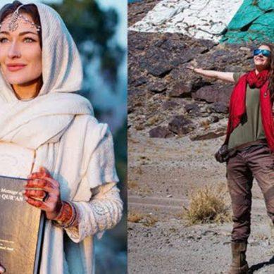 پاکستانی کلچر اور خوبصورتی سے متاثر ہوکر کینیڈین خاتون سیاح دائرہ اسلام میں داخل