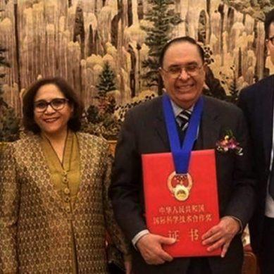 چین میں پاکستانی پروفیسر کیلئے اعلیٰ ترین سائنٹیفیک ایوارڈ