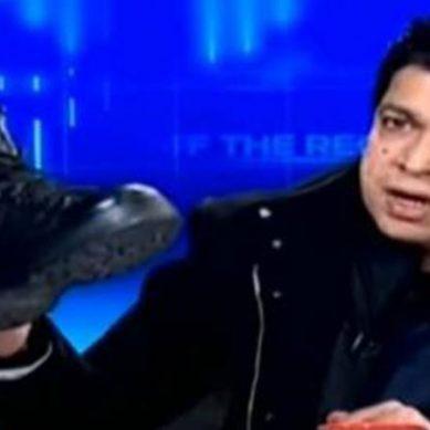 فیصل واوڈا کا جوتا کاشف عباسی کو مہنگا پڑگیا ٹی وی پر آنے پر پابندی