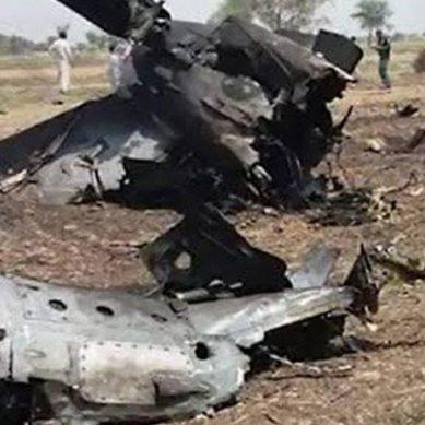 پاک فضائیہ کا تربیتی طیارہ گرکر تباہ ،2 پائلٹ شہید