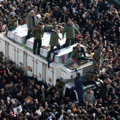 جنرل سلیمانی کے جنازے میں بھگدڑ، متعدد افراد جاں بحق اور زخمی