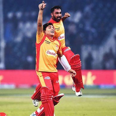 اسلام آباد یونائیٹڈ سنسنی خیز مقابلے کے بعد کامیاب، قلندرز کو 1 وکٹ سے شکست