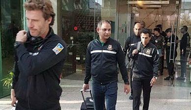بنگلا دیشی ٹیم ٹیسٹ سیریز کے پہلے میچ کیلئے پاکستان پہنچ گئی