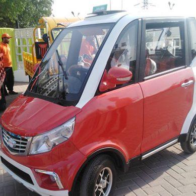 بجلی سے چلنے والی گاڑی عنقریب پاکستان میں دستیاب ہوگی