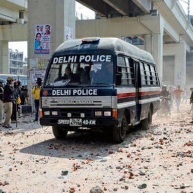 ٹرمپ کا دورہ بھارت : نئی دہلی میں احتجاج کرنے والوں پر پولیس کا بدترین تشدد