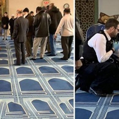 لندن کی مسجد کے مؤذن پر نامعلوم شخص کا چاقو سے حملہ