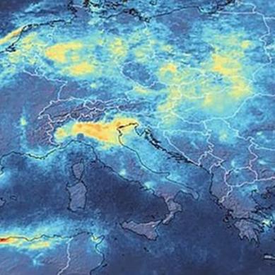 کورونا کی وجہ سے فضائی آلودگی میں نمایاں کمی واقع ہوئی ہے