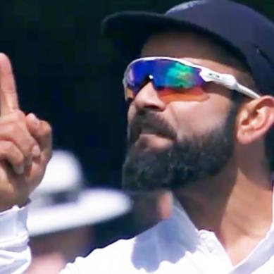 بھارتی کپتان کوہلی کی مدمقابل ٹیم سے بدتمیزی کی روایت برقرار