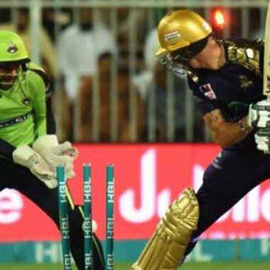 لاہور قلندرز کی پہلی کامیابی ، کوئٹہ کو 37 رنز سے شکست