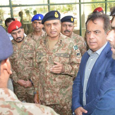 اعلیٰ سول و عسکری احکام کا ایکسپوسینٹر کراچی کا دورہ