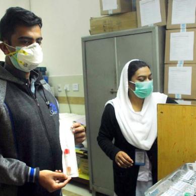 سندھ میں کورونا وائرس کے87 کیسز، ملک بھر میں تعداد 105 ہوگئی