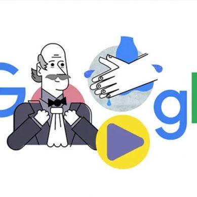 گوگل کا ڈاکٹر اگناز کیلئے اعزاز ، ہاتھ دھونے کے طریقے بتادیئے