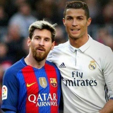 میسی اور کرسٹیانو رونالڈو کا ایک ایک ملین یورو دینے کا اعلان