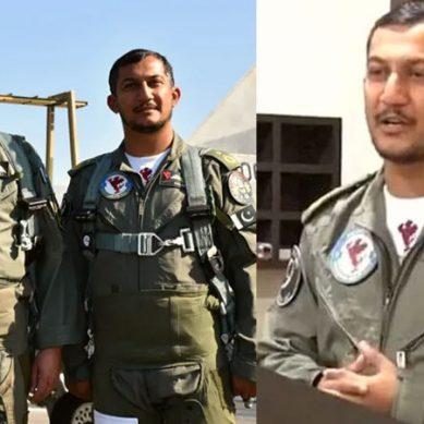 پاک فضائیہ کے سربراہ کا  ونگ کمانڈر نعمان اکرم (شہید)کو خراجِ عقیدت