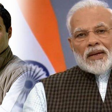 بھارتی وزیراعظم نریندر مودی کو راہول گاندھی کا مشورہ