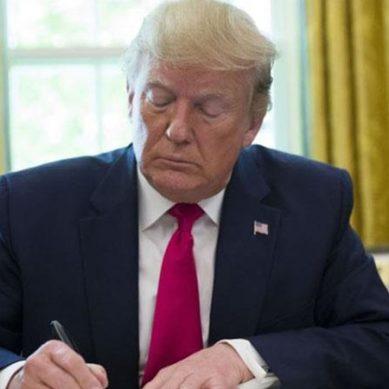 امریکی صدر ڈونلڈ ٹرمپ کا امیگریشن پرعارضی پابندی عائد کرنے کا اعلان