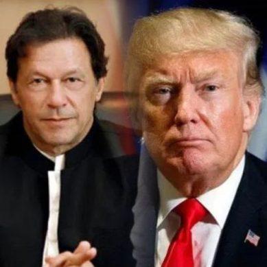 عمران خان اور ڈونلڈ ٹرمپ کے مابین ٹیلی فونک رابطہ