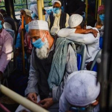 بھارت : کورونا کے بڑھتے خدشات ، نئی دہلی میں تبلیغی مرکز سیل