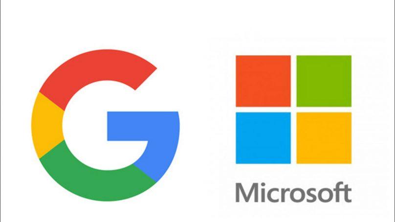 گوگل اور مائیکروسافٹ بھارت میں سرمایا کاری کے لیے تیار