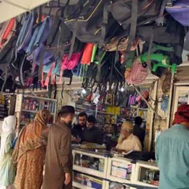 کراچی : لاک ڈاؤن کے 50 روز بعد چھوٹے کاروبار کھول گئے