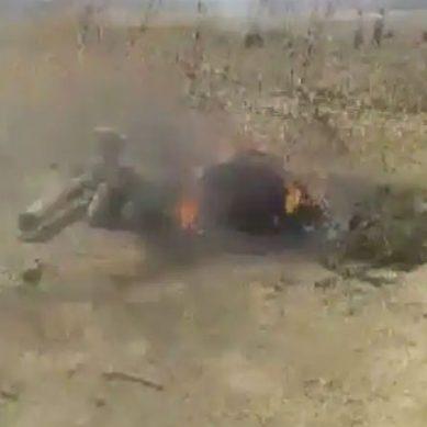 پنجاب میں آئی اے ایف مگ 29 کا لڑاکا طیارہ گر کر تباہ ہوگیا