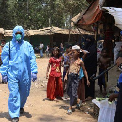 بنگلادیش میں قائم روہنگیا کیمپوں میں بھیکورونا کیسز کی تصدیق