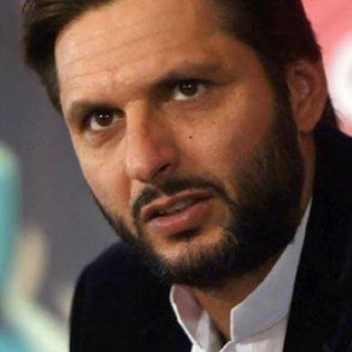 شاہد آفریدی : افغانستان میں بچوں اور عورتوں پر حملہ افسوناک ہے