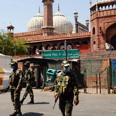 بھارت : دہلی کی جامع مسجد کورونا وائرس کے خدشات کے پیش نظر بند