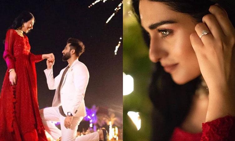 چٹ منگنی ، پٹ بیاہ،اداکارہ سارہ خان نے ہاں کردی
