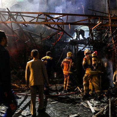 تہران میں سلنڈر دھماکہ،19افراد جاں بحق،متعدد زخمی