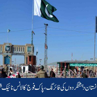 باجوڑ : افغانستان سے دہشتگردوں کی فائرنگ ، پاک فوج کا لانس نائیک شہید