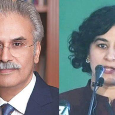 وزیراعظم کے معاونین خصوصی ڈاکٹر ظفر مرزا تانیہ ایدروس مستعفی