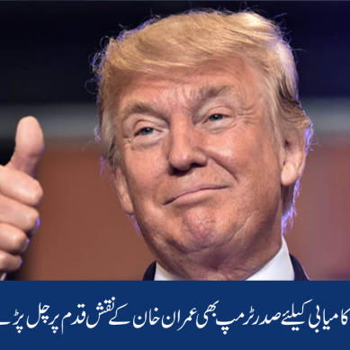 انتخابات میں کامیابی کیلئے صدر ٹرمپ بھی عمران خان کے نقش قدم پر چل پڑے