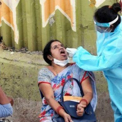 بھارت کورونا کی وبا کا نیا مرکز،ایک دن میں نئے مریضوں کا عالمی ریکارڈ