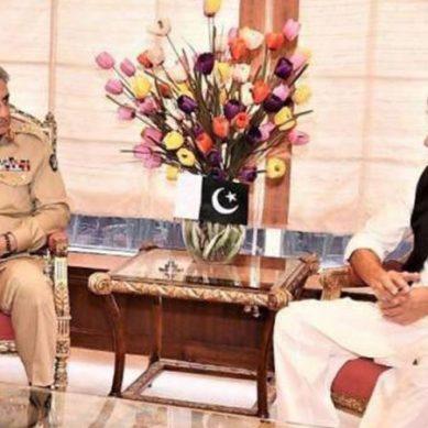 وزیراعظم عمران خان کی آرمی چیف سے اہم ملاقات