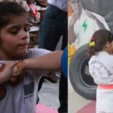 پاکستانی 7 سالہ بچی نے پوری قوم کا سر فخر سے بلند کردیا