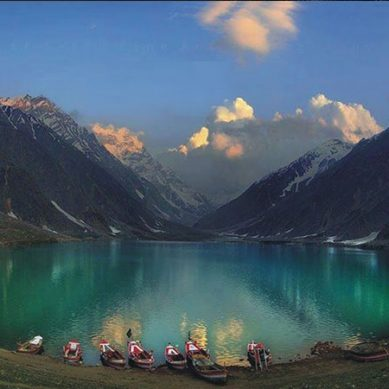 سحر انگیز پریوں کی جھیل