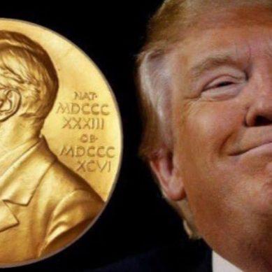امریکی صدر نوبل انعام برائے امن کیلئے نامزد ،دنیا میں ہنگامہ برپا