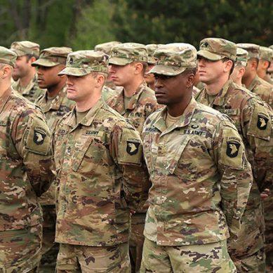 امریکہ کا عراق میں فوجیوں کی تعداد کم کرنے کا اعلان