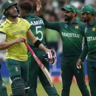 پاکستانی کرکٹ ٹیم آئندہ سال جنوبی افریقہ کا دورہ کرےگی