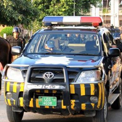 ملک کی شان سندھ پولیس کو سلام