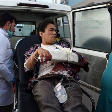 کابل یونیورسٹی پر حملہ ، 22 افراد ہلاک