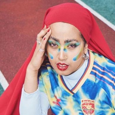 سلمیٰ رحمان : ایڈیڈاس مہم کیلئے پہلی باحجاب آرٹسٹ